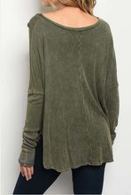 Load image into Gallery viewer, Everyday Is A Good Day- Olive Tunic