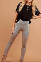 Load image into Gallery viewer, Popping Champagne- Sequin Leggings