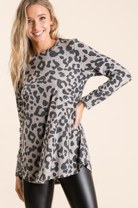 Love in Leopard- Top