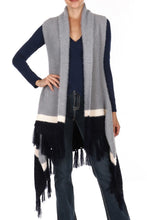 Load image into Gallery viewer, Never Let Go- Poncho Vest
