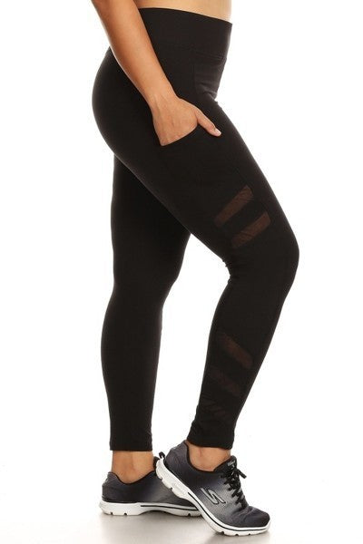 Work It Girl- Curvy Sculpting Leggings - Multiple Colors Available