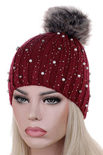 Load image into Gallery viewer, So Girly- Bling Beanie