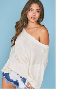 Ivory Dreams Top