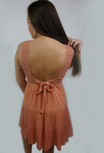 Load image into Gallery viewer, Peach Paradise- Peach Dress