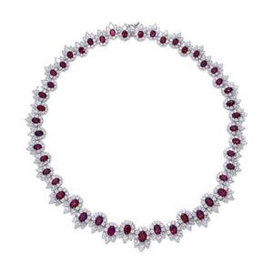 Marina Ruby Necklace