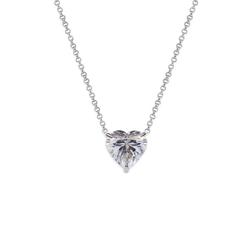 Brynn Heart Pendant Necklace