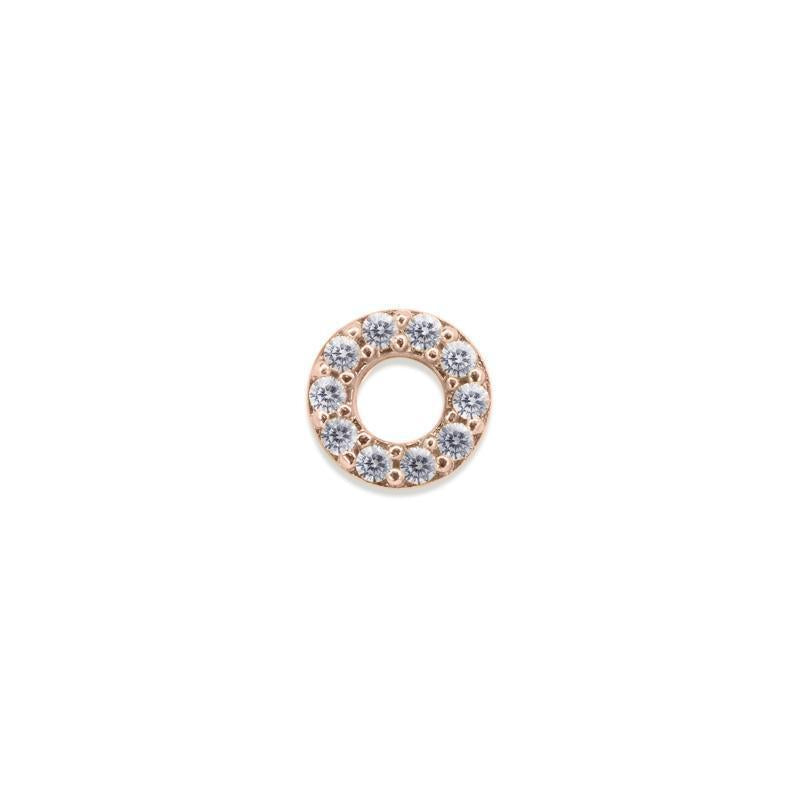 Miwa Stud Rose Gold