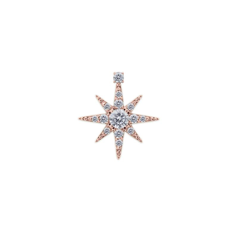 Polaris Stud Rose Gold