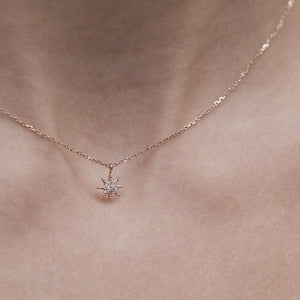 Lyra Necklace Rose Gold