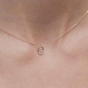 Cressida Necklace Rose Gold