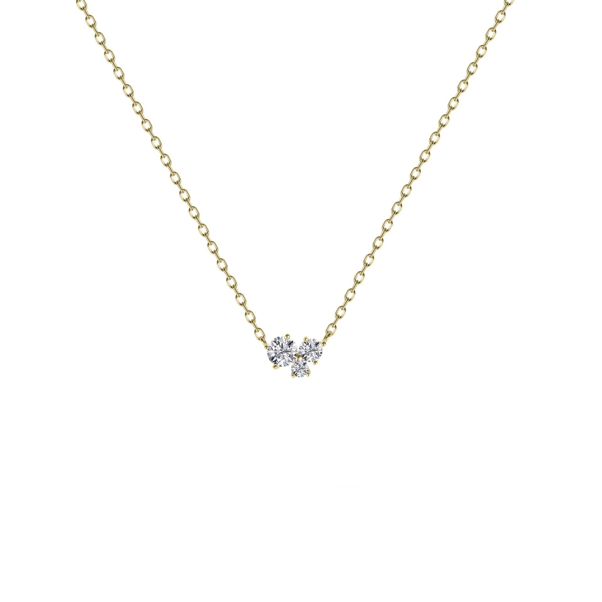 Yara Necklace Yellow Gold