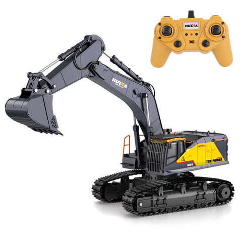 Big RC Excavator Remote Control Vehicle Toy for Boys