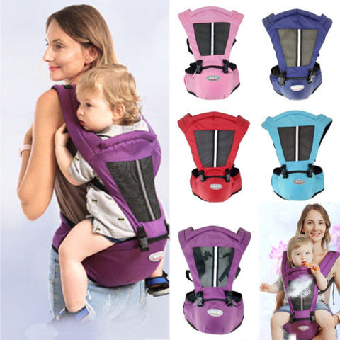 Adjustable Baby Carrier Waist Hipseat Belt Sling Backpack