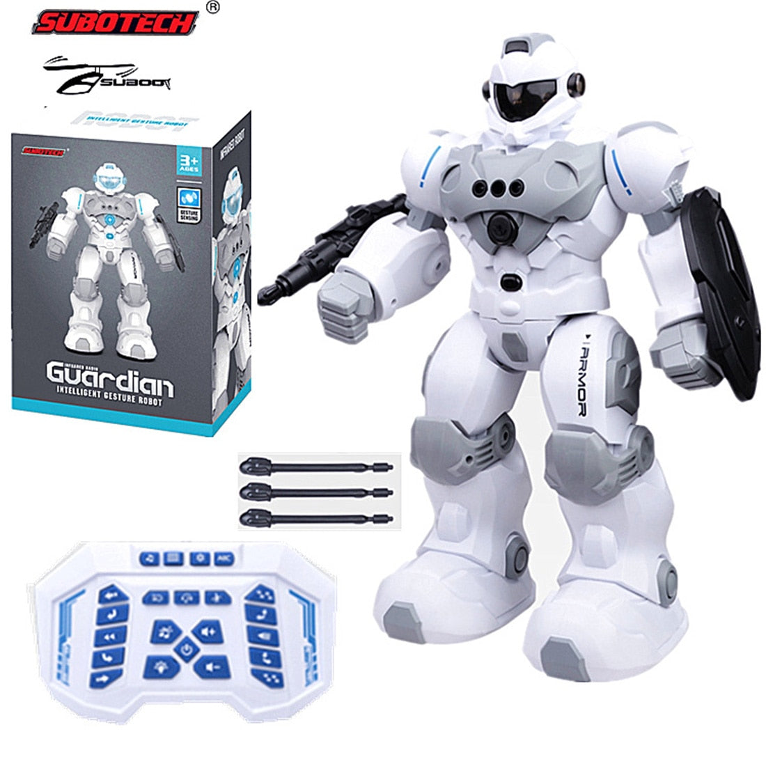 Remote Control Gesture Sensing Educational Kids Robot
