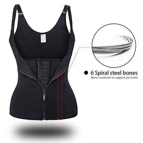 Neoprene Sauna Sweat Vest Shapewear