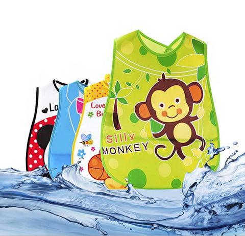 Cartoon Baby Bibs Waterproof