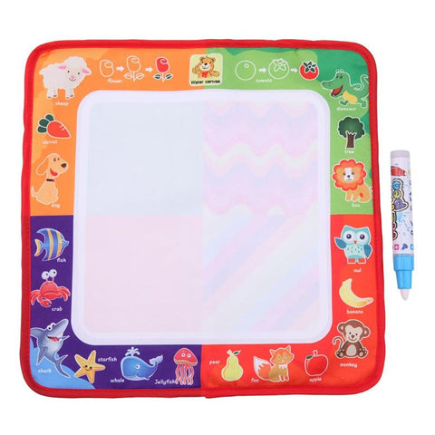 Magic Water Drawing Cloth With Painting Pen