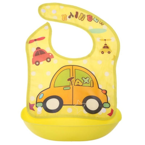 Cartoon Baby Bibs Waterproof Apron