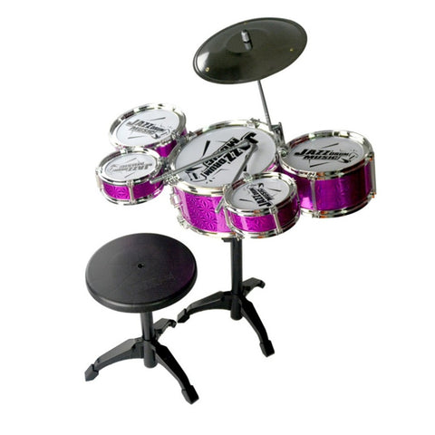 Musical Instrument Toys Simulation Jazz Drum Kit