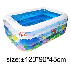 High Quality Children's Pool Large Size Inflatable Square Swimming Pool