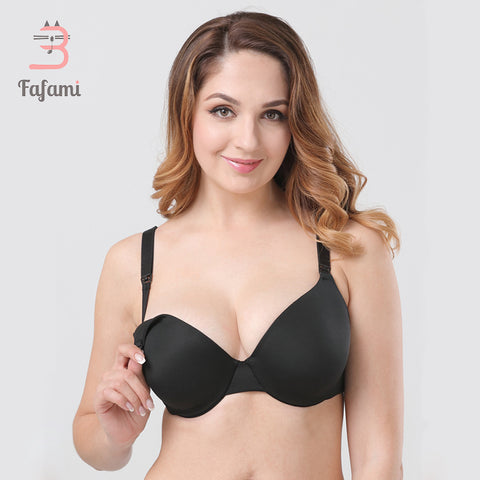Maternity Nursing Bra 34C-44H Plus Size Full Coverage Back
