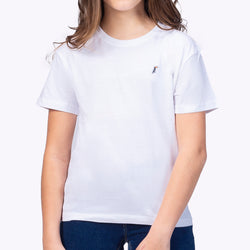 Playera Monocromática Kid Blanco