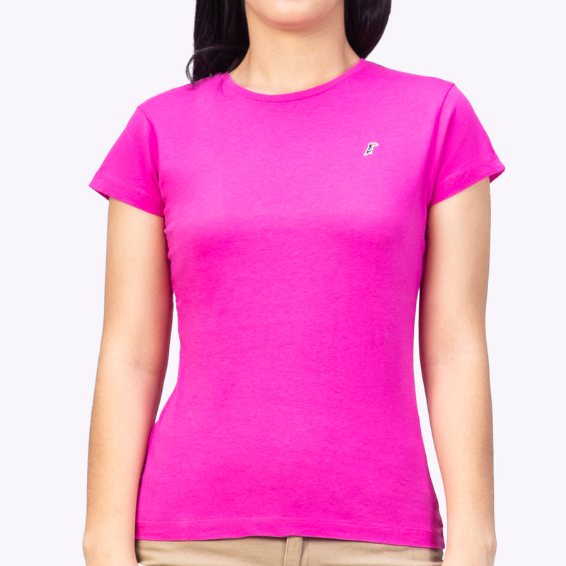 Playera Monocromática Air Fucsia
