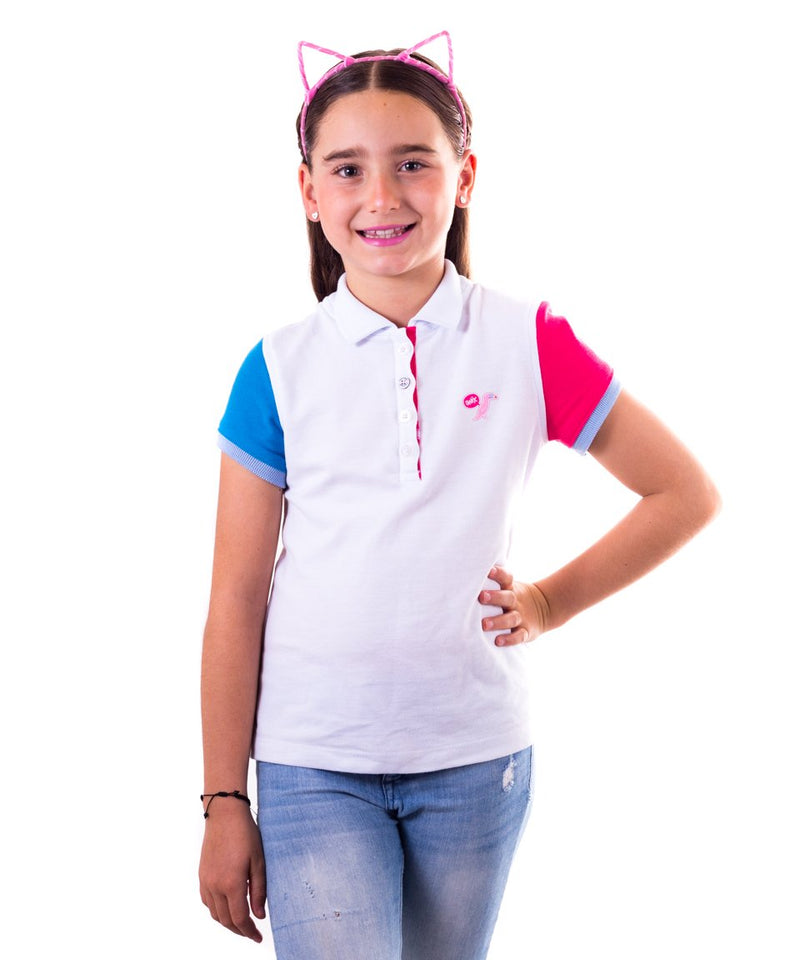 Playera Polo Onix Blanco