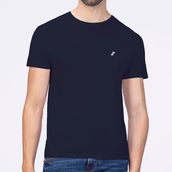 Playera Monocromática Air Marino