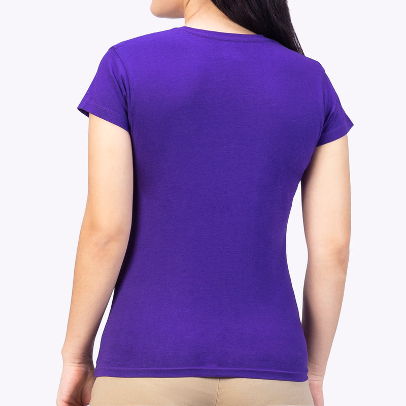 Playera Monocromática Air Purpura
