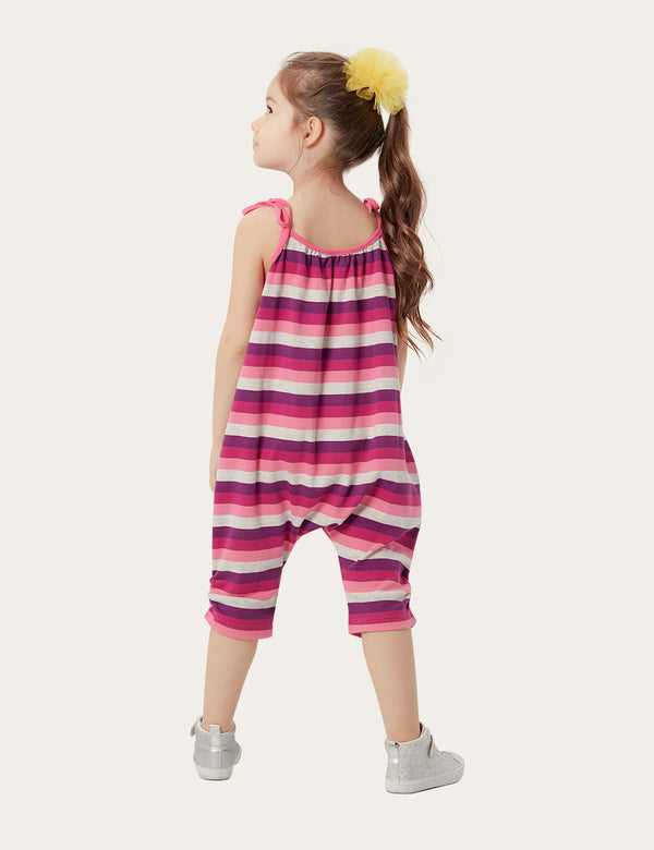 Kitty Striped Jumpsuit