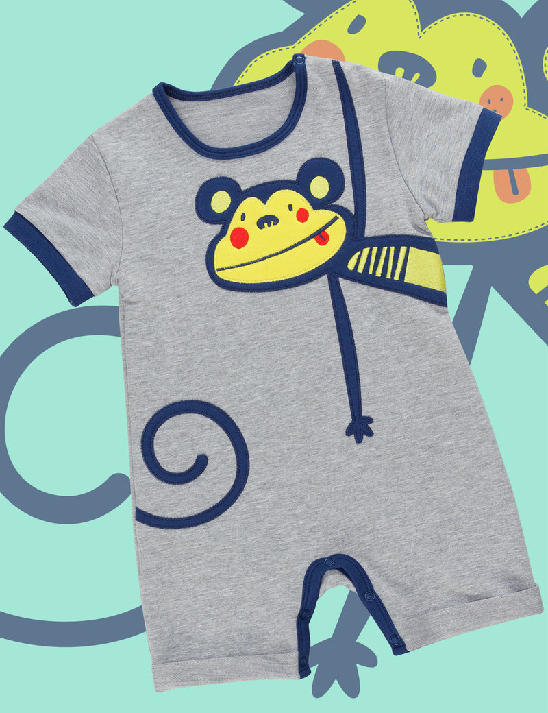 Crazy Monkey Onesie