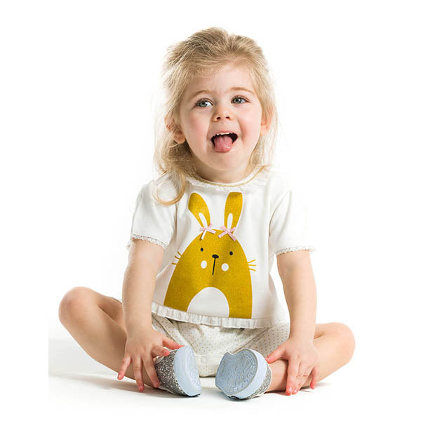 Golden Bunny Romper
