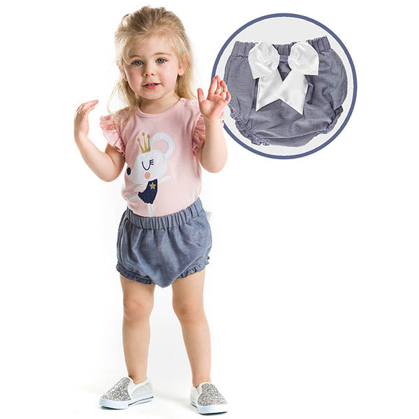 Ballerina Bubble Shorts Set