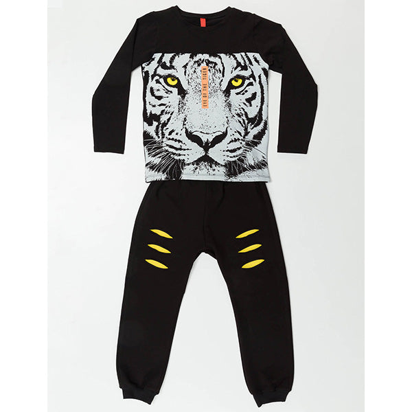 Tiger Printed Set