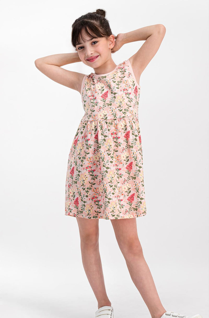 Roly Poly Floral Chic Dress