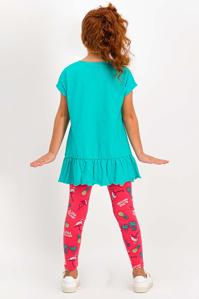 Roly Poly Flamingo Set