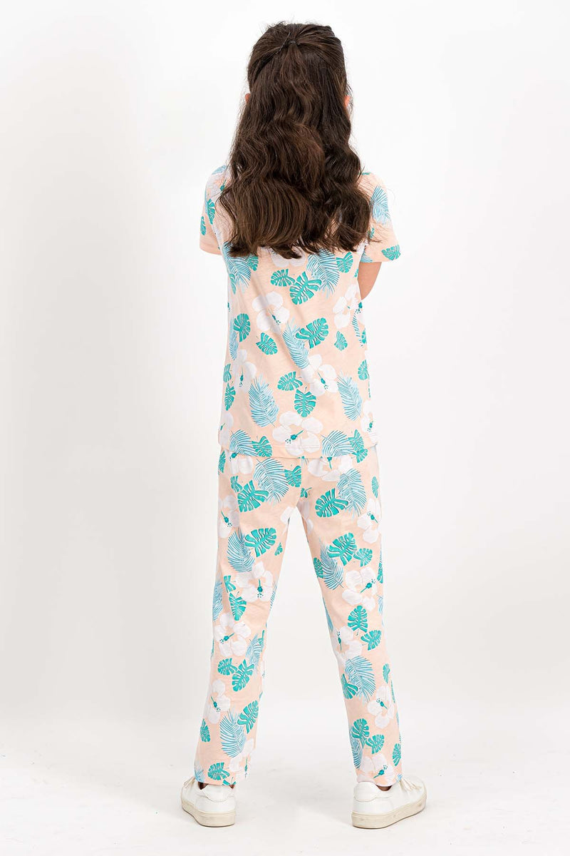 Roly Poly Floral Pajama Set