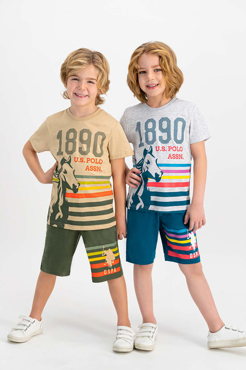 US Polo Colorful Strips Set