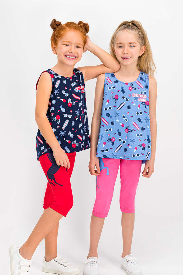 US Polo Summer Girls Set