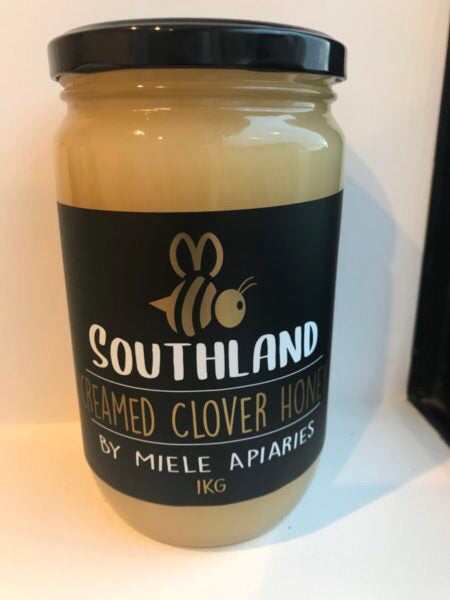 Creamed Clover Honey 1kg