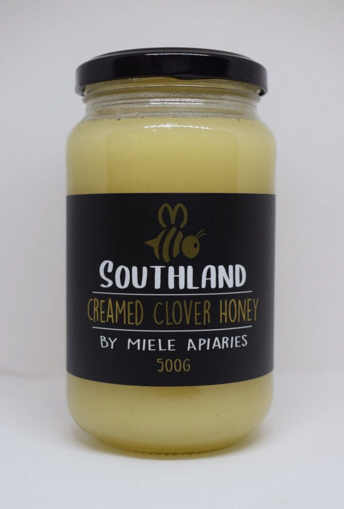 Creamed Clover Honey 500g