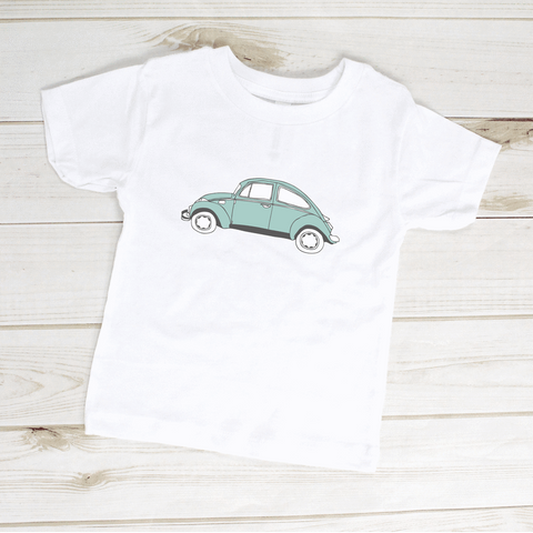 Image of Volkswagen VW Bug Beetle Classic Car Toddler Shirt