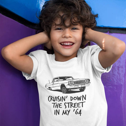 Image of Toddler Shirt - Cruisin' Down The Street In My 64
