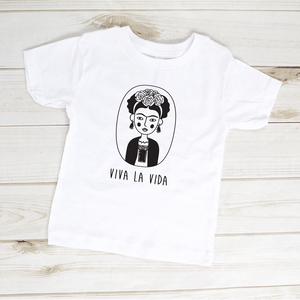 Viva La Vida Frida Kahlo Toddler Shirt