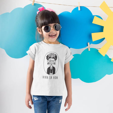 Image of Toddler Shirt - Viva La Vida Frida