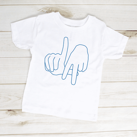 Image of Los Angeles Hand Sign Toddler Shirt