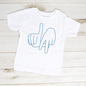 Los Angeles Hand Sign Toddler Shirt