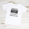 All We Hear Is Radio Ga Ga Queen Band Toddler Shirt