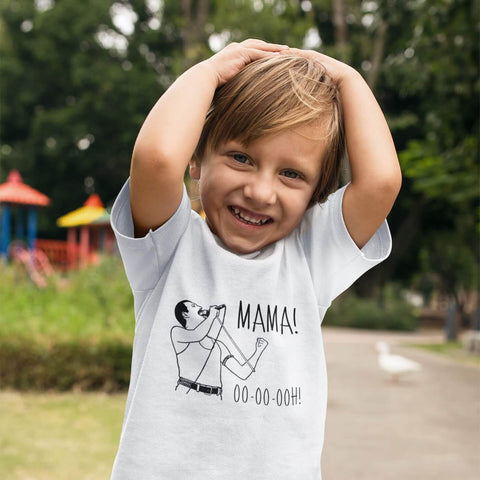 Image of Toddler Shirt - Freddie Mercury Mama Ooh Queen Band